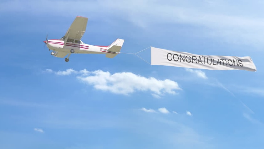 Paid Plane to Fly Sports Banner
